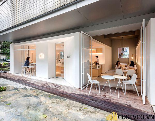 Mẫu thiết kế quán cafe văn phòng độc đáo - View 1