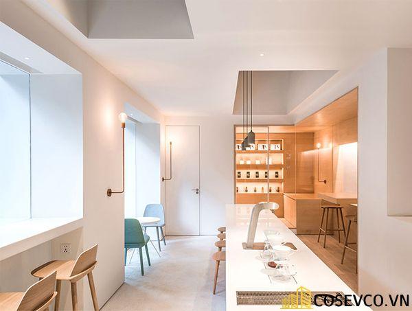 Mẫu thiết kế quán cafe văn phòng độc đáo - View 5