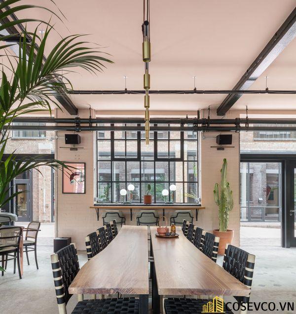 Bố trí không gian nội thất quán cafe văn phòng ấn tượng - View 1