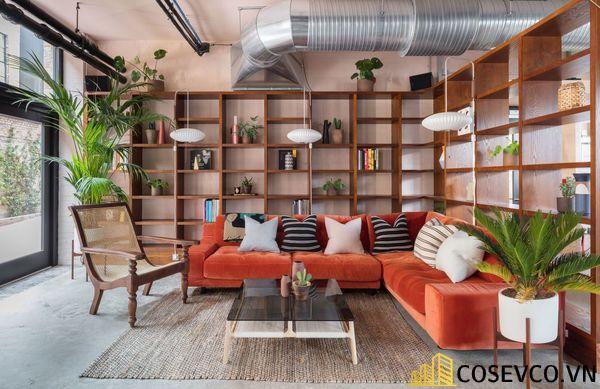 Bố trí không gian nội thất quán cafe văn phòng ấn tượng - View 2