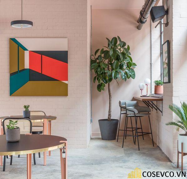 Bố trí không gian nội thất quán cafe văn phòng ấn tượng - View 8