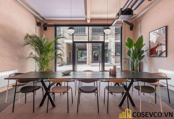 Bố trí không gian nội thất quán cafe văn phòng ấn tượng - View 3