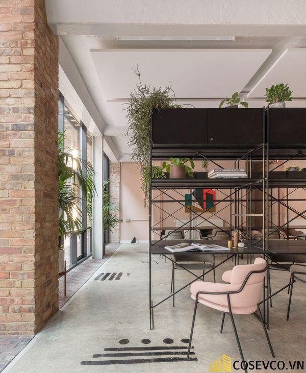 Bố trí không gian nội thất quán cafe văn phòng ấn tượng - View 4