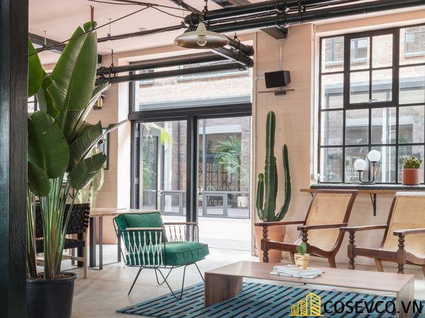 Bố trí không gian nội thất quán cafe văn phòng ấn tượng - View 5