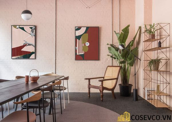 Bố trí không gian nội thất quán cafe văn phòng ấn tượng - View 9
