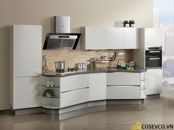 Tủ bếp chất liệu Acrylic - M2