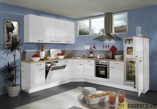 Tủ bếp chất liệu Laminate cao cấp - M2