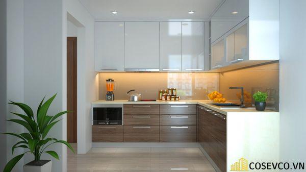 Tủ bếp gỗ MDF là sự kết hợp tinh tế giữa các sản phẩm gỗ công nghiệp MFC và MDF