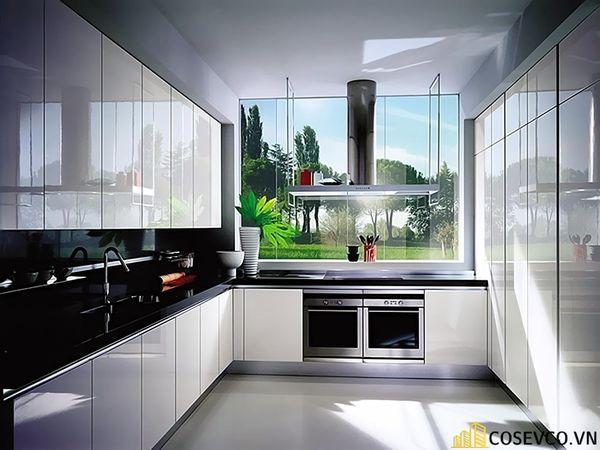 Tủ bếp chất liệu Acrylic - M4