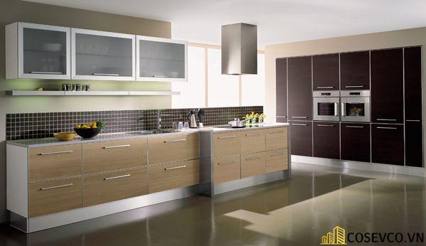 Tủ bếp chất liệu Laminate cao cấp - M3