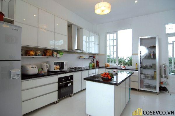 Tủ bếp chất liệu Laminate cao cấp - M5