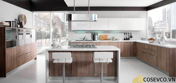 Tủ bếp chất liệu Laminate cao cấp - M6