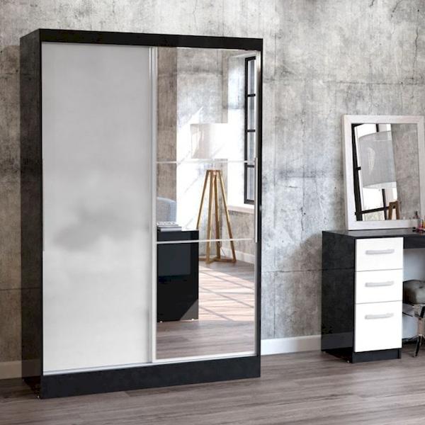 Tủ quần áo cửa lùa có gương - Hình ảnh 9