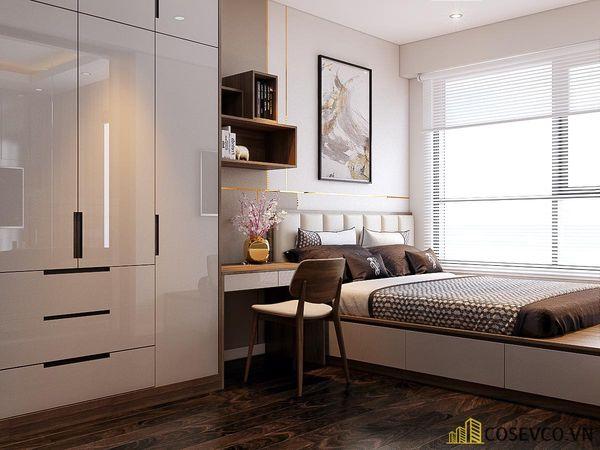 Thiết kế nội thất chung cư Vinhomes Smart City - Căn 2 phòng ngủ