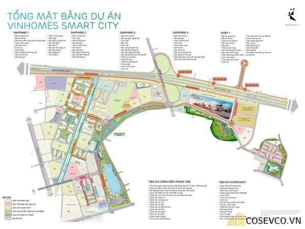 Quy hoạch dự án Vinhomes Smart City