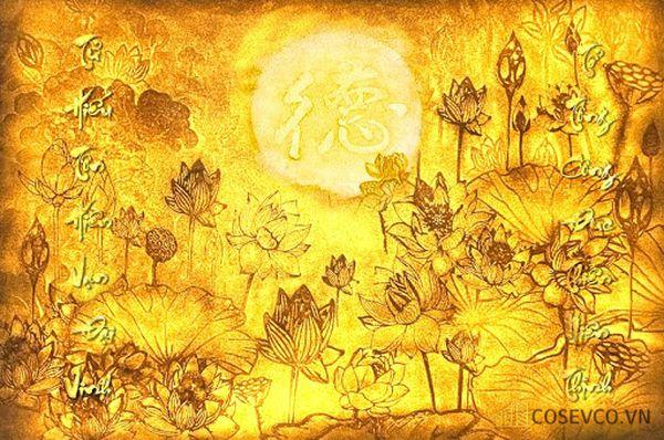 Tranh hoa sen luôn là lựa chọn của sự thanh cao trang nhã