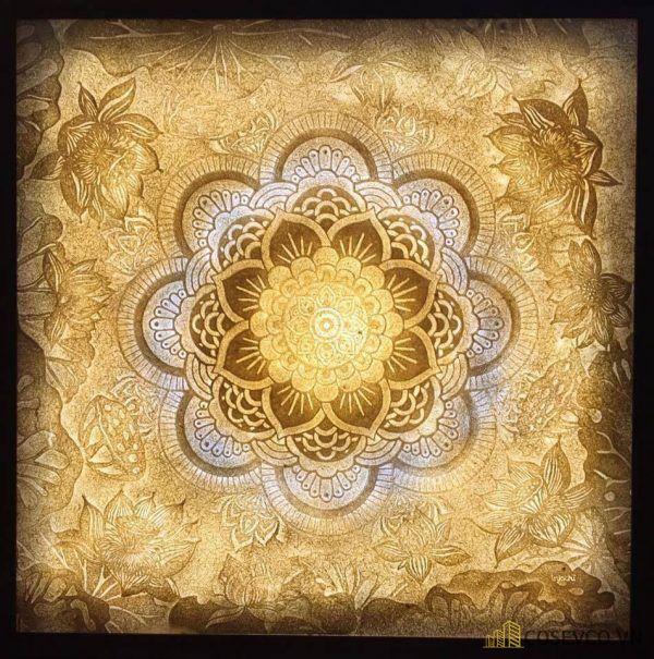 Tranh trúc chỉ hoa sen - Hình ảnh 11
