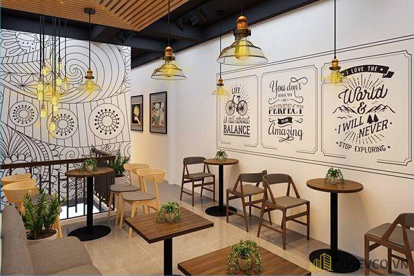 Cách trang trí quán cafe nêu bật phong cách