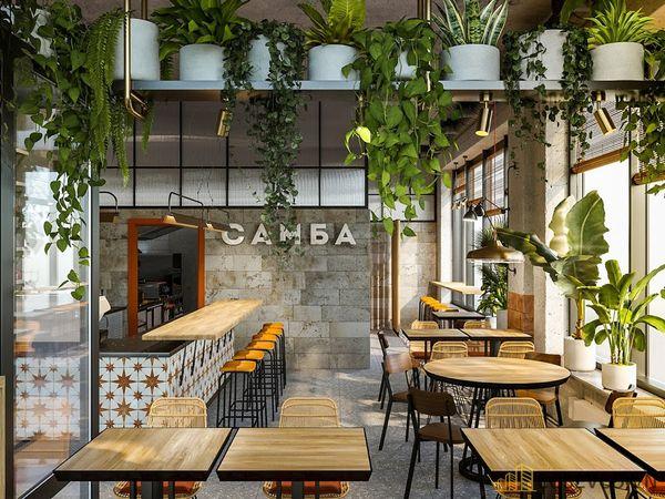 Chú ý khâu ánh sáng khi thiết kế quán cafe