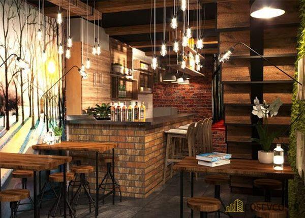 Điểm cần chú ý nhất là tông màu của quán cà phê cần toát lên sự hoài cổ