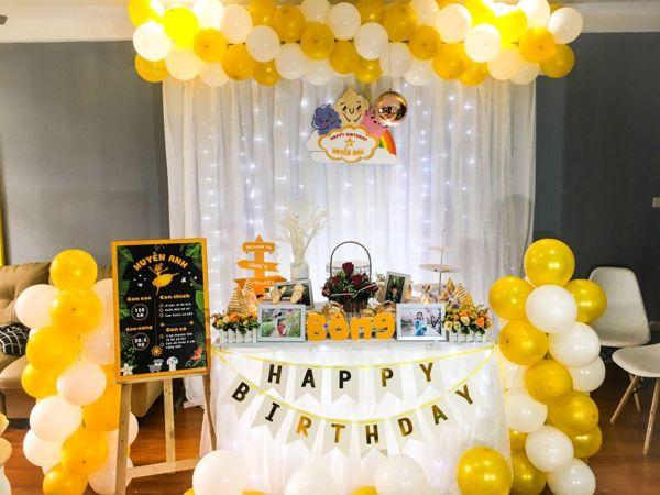 Các kiểu trang trí sinh nhật tại nhà đẹp - M1