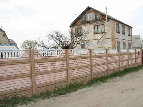 Mẫu hàng rào đẹp cho nhà cấp 4 - M1