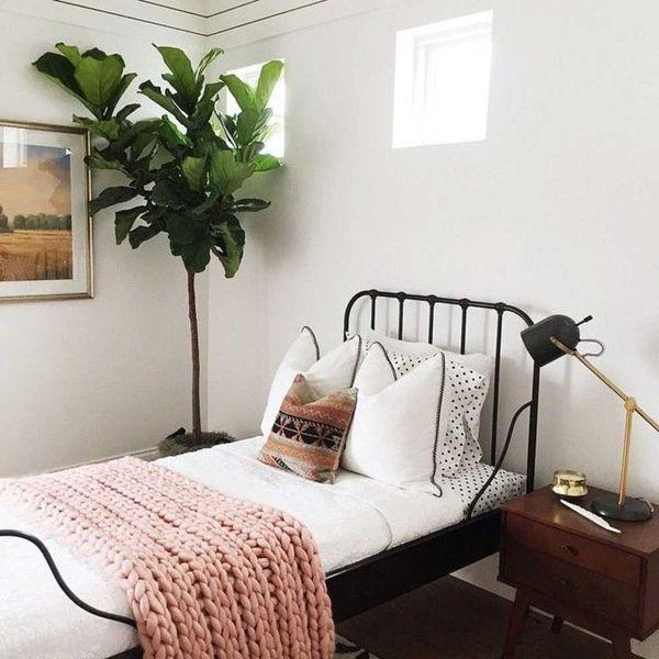 Phòng ngủ phong cách vintage có hai phong cách riêng biệt